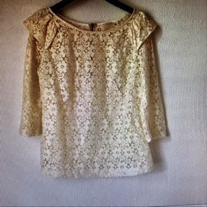 Urban Outfitters Pins and Needles crochet blouse